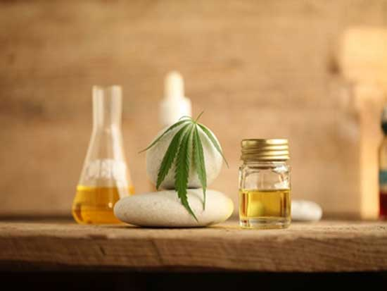 CBD Massage Oil treatment at Green Sky Massage