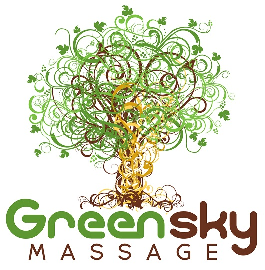 Green Sky Massage logo
